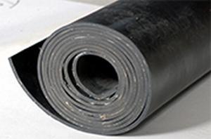 SBR Plaatrubber  dikte vanaf 8 mm - rol 5 m