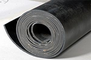SBR Plaatrubber  vanaf 1 mm - rol 10 m