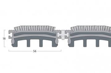 Esplanade 6000 - 23 mm H. - 56 mm Br.
