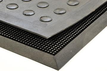 Gesloten structuur met randen 23 mm