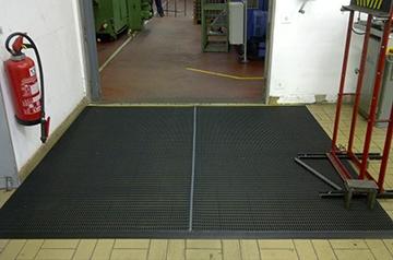IJzervijlselmat 15 mm - 10m