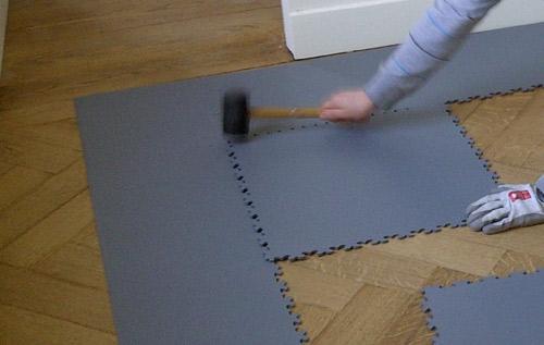 Standaard tegelvloer - 5 mm - kantoor - garage
