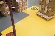 Standaard tegelvloer - 7 mm - showroom - magazijn