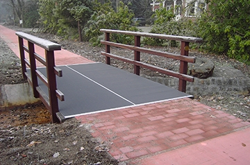 Antislip - drainage - in- of outdoor