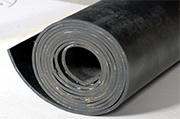 Rubber op rol, mat of tegel