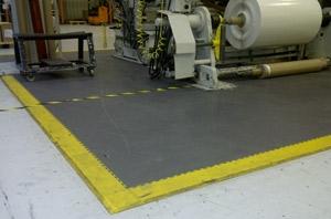 Heavy Duty  tegelvloer - 10 mm - werkplaats