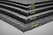 Granulaat rubber (ondervloer)